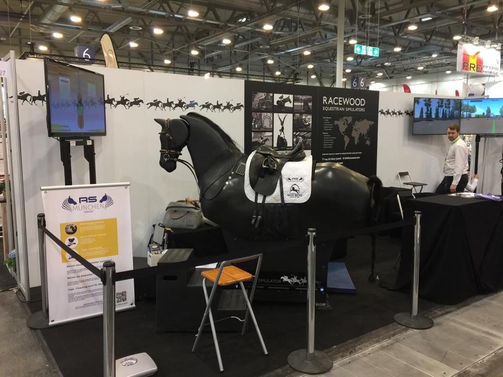 Equitana 2019 Racewood Reitsimulator München